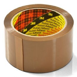 3M Brown/Buff SCOTCH Packaging Tape 50mm x 66m